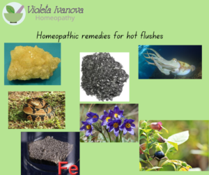 hot flushes, homeopathy, menopause
